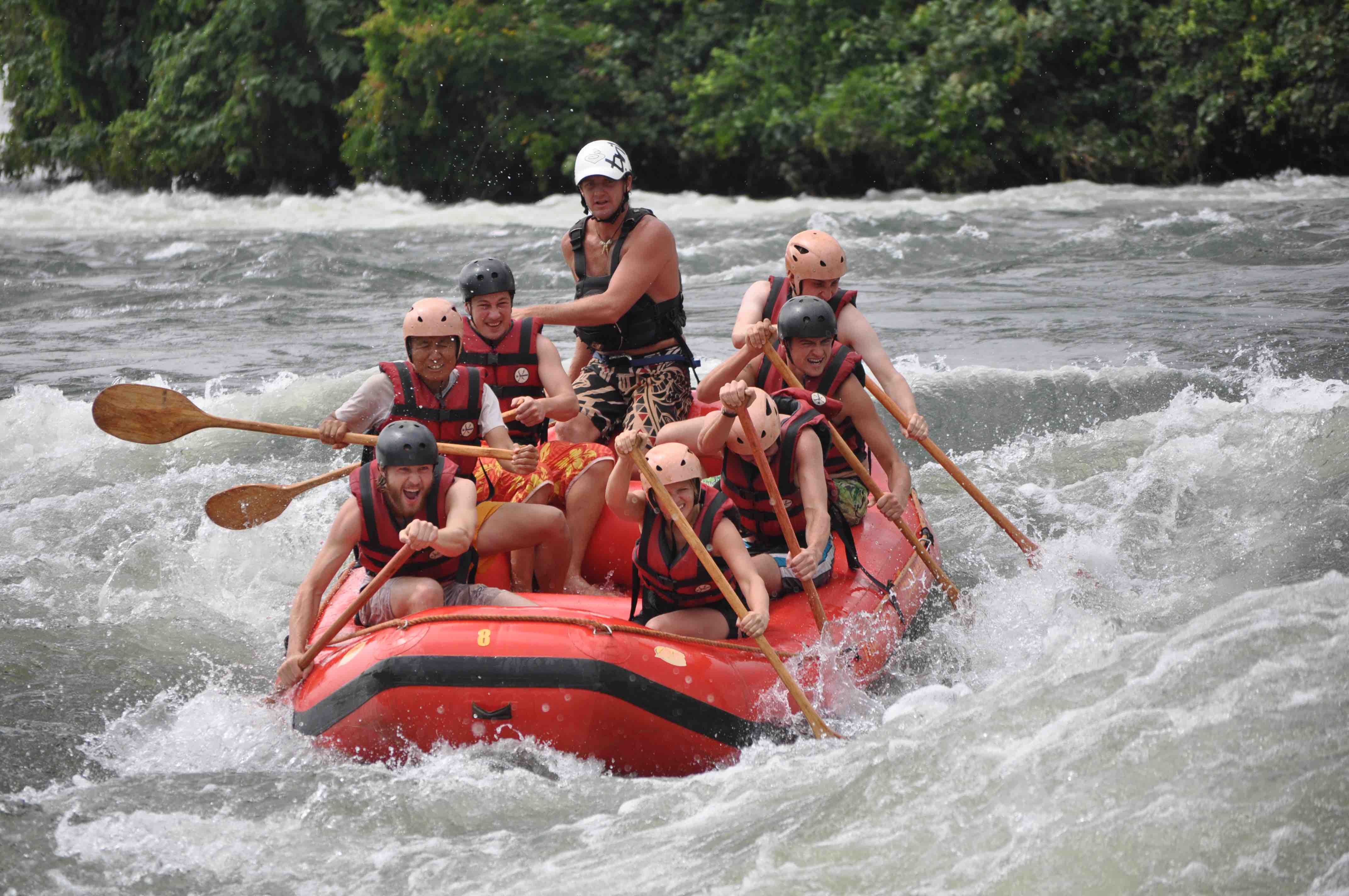 The Nile Jinja White Water Rafting Bryan