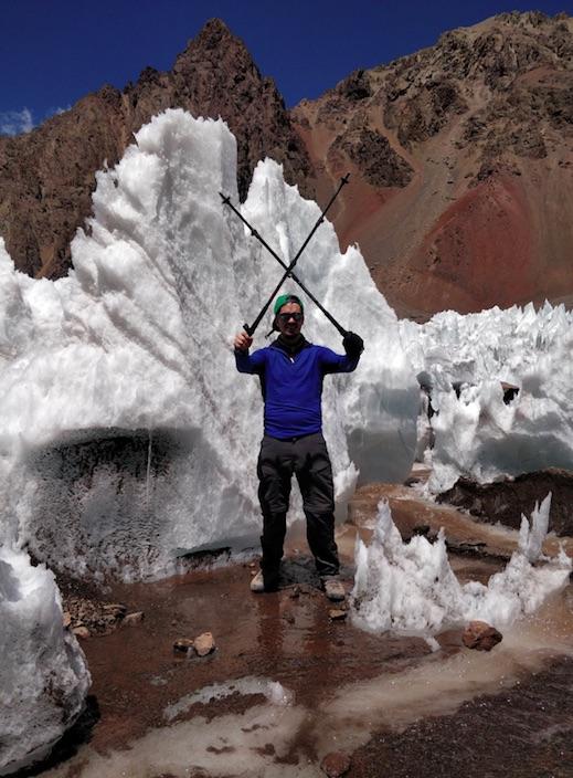 Glacier Base Camp Aconcagua - Bryan