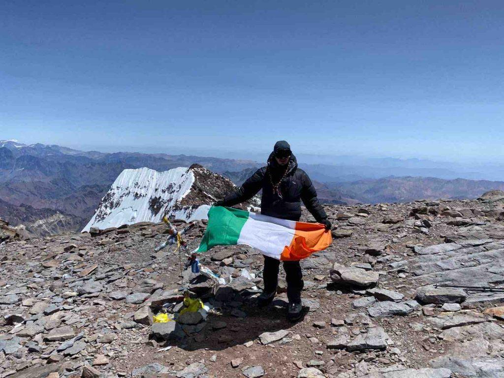 Aconcagua Summit - Bryan