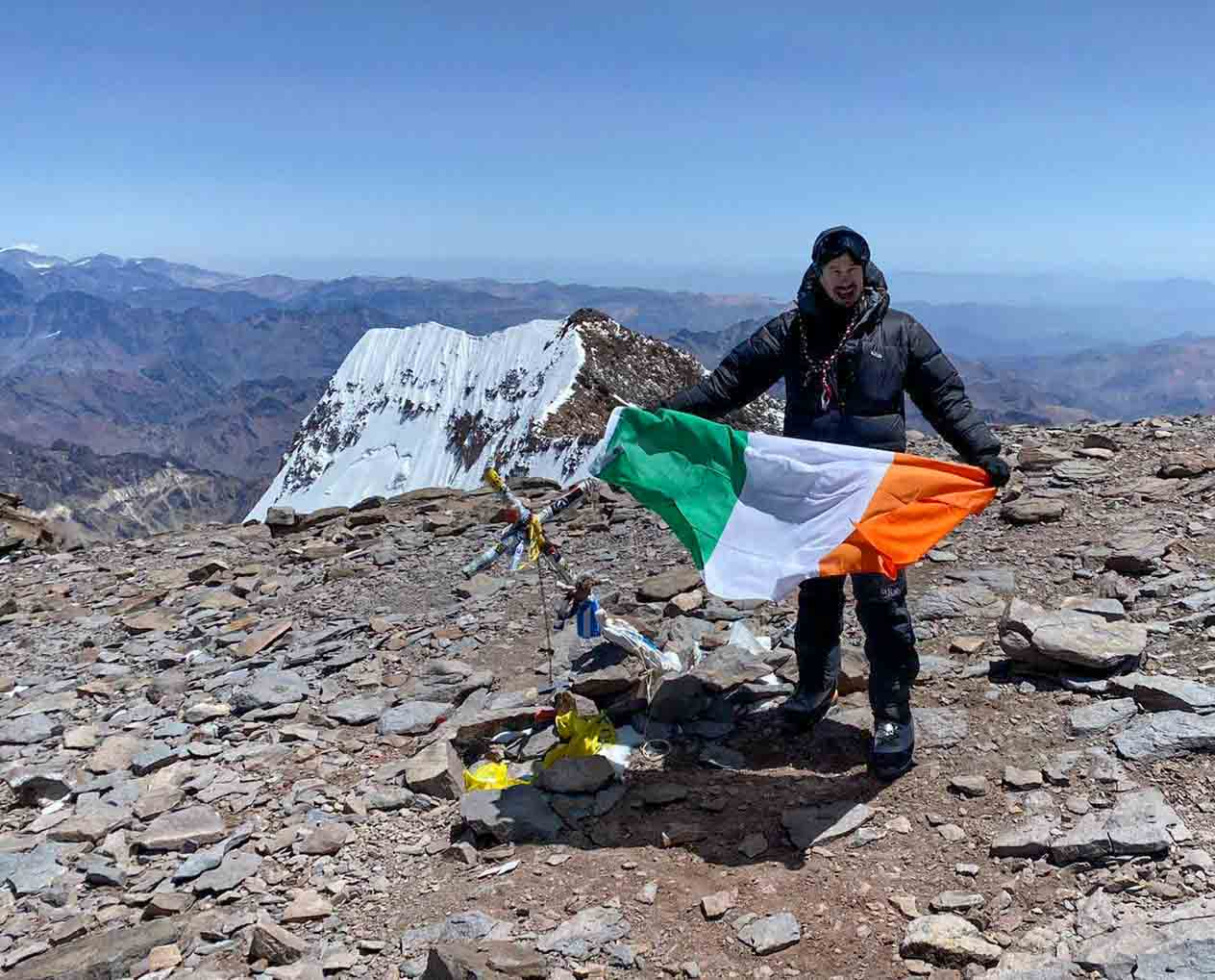 Summiting Aconcagua and Country 100!!!