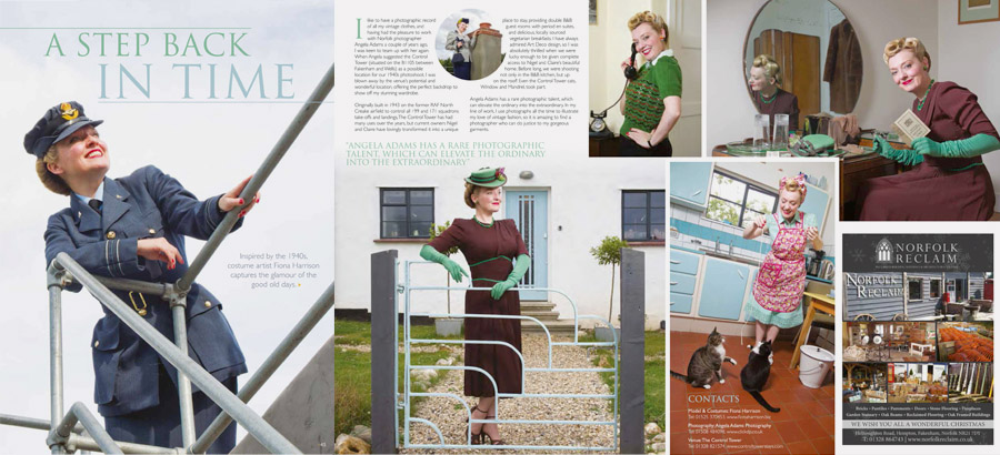 Norfolk Photographer - Tear sheets and copy - Angela Adams