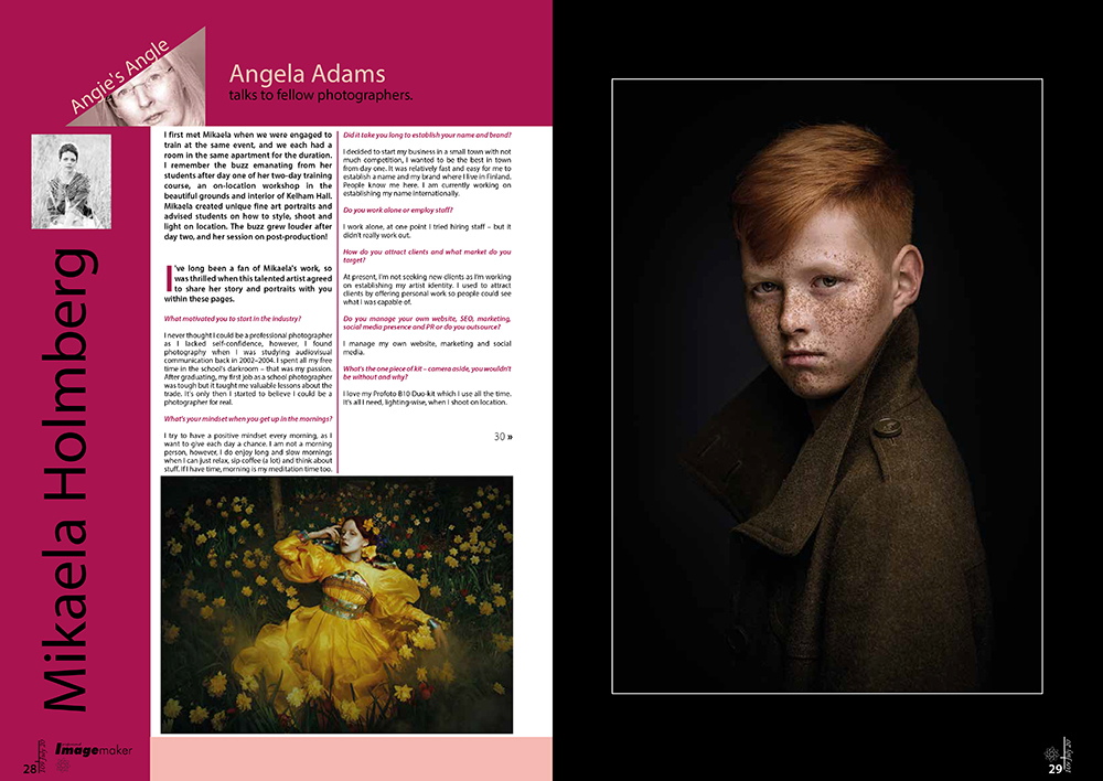 norfolk photographer - angela adams - tear sheets and copy