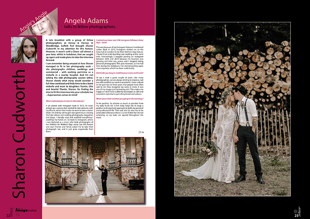 norfolk writer and photographer - tear sheets and copy - angela adams - sharon cudworth