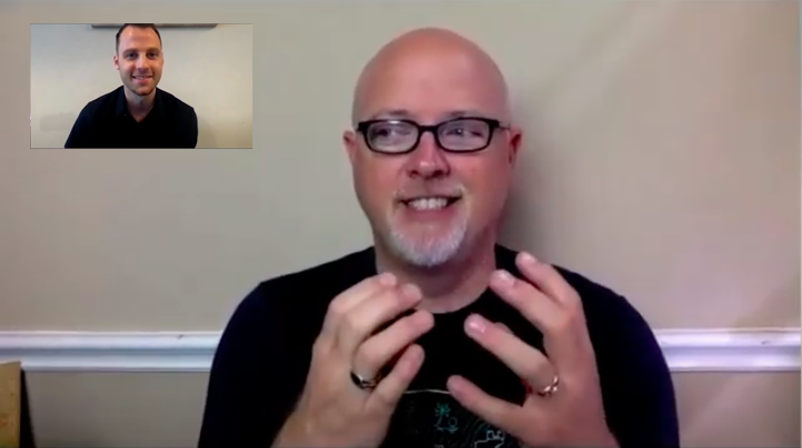 Screenshot of interview: Tony Slate, ASL teacher at Fort Bend Christian Academy