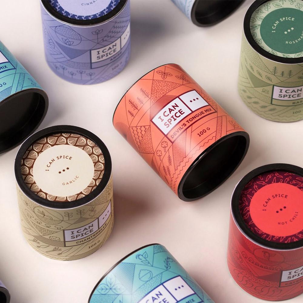 Spice label design Ideas