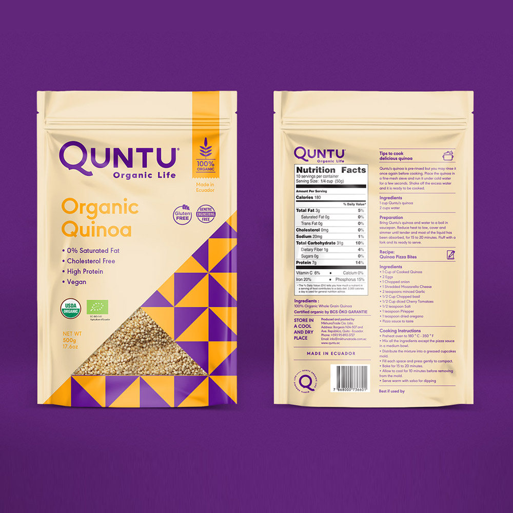 Creative Organic SPice Pouch Packaging Design