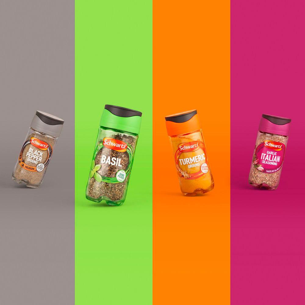 Attractive Spice sprinkler Packging Design Ideas