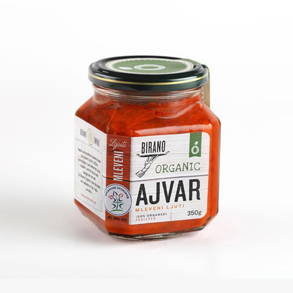 Organic spice Label packaging design