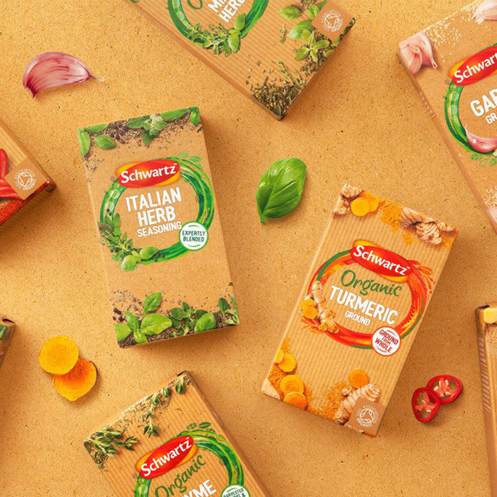 Turmeric Spice Box Packaging Design