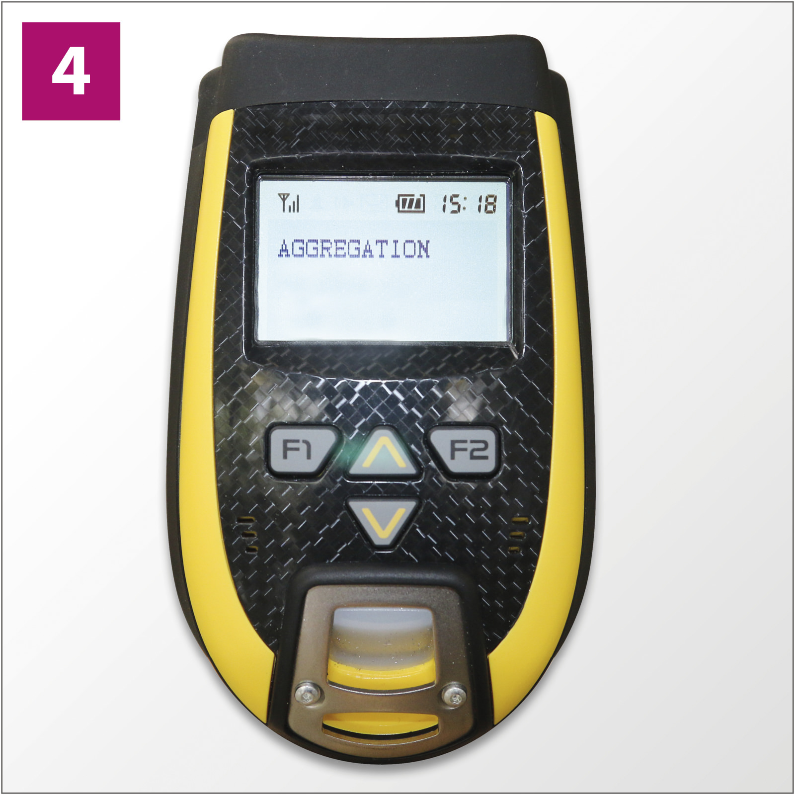 Track and Trace: OEM component wireless handheld scanner