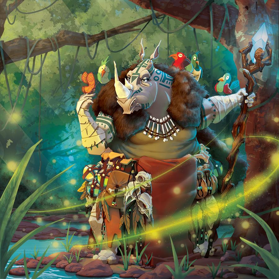 Untamed Feral Factions Spirit Strike edition cover art