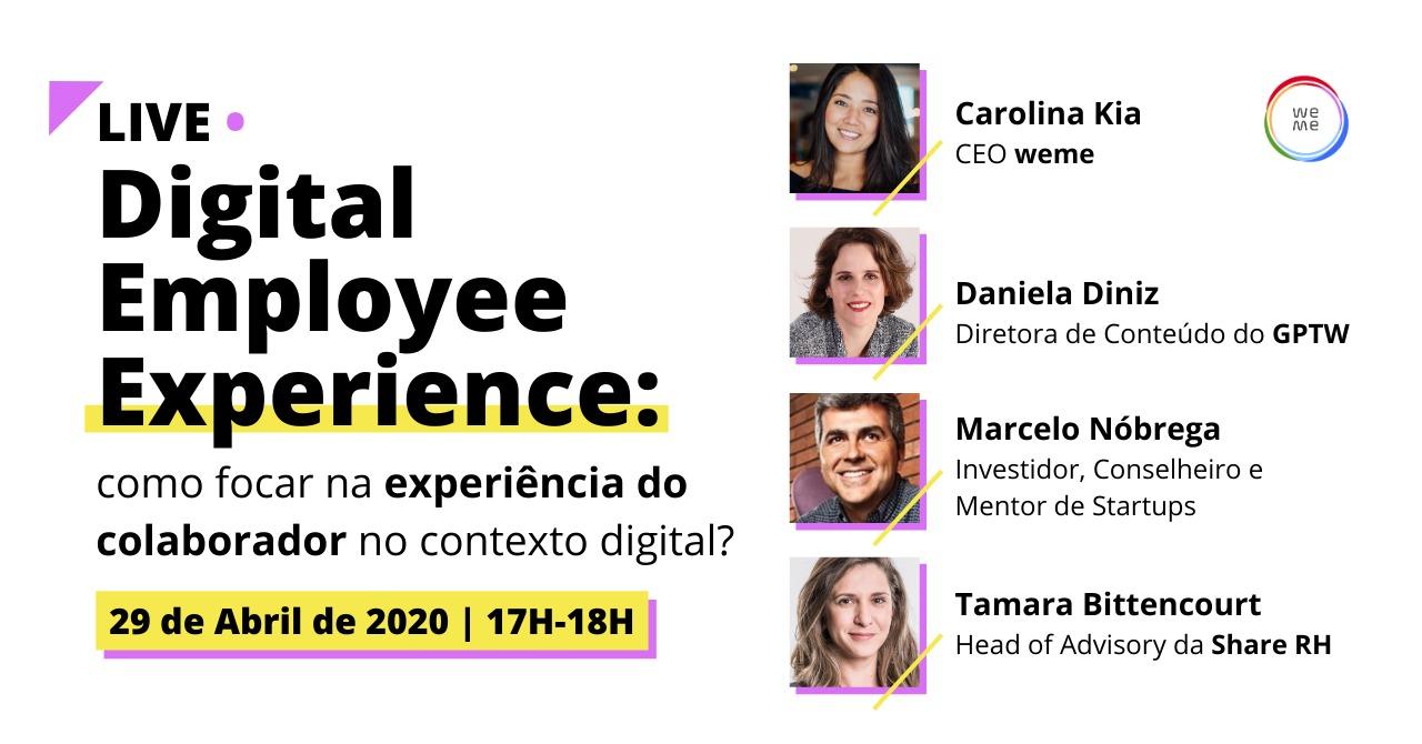 Digital Employee Experience: Como focar na experiência do colaborador no contexto digital?