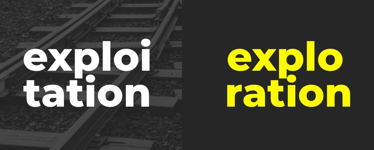 exploitation-exploration