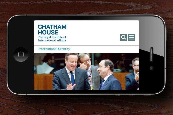 Chatham House website