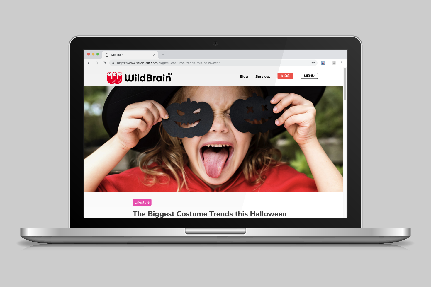 WildBrain website