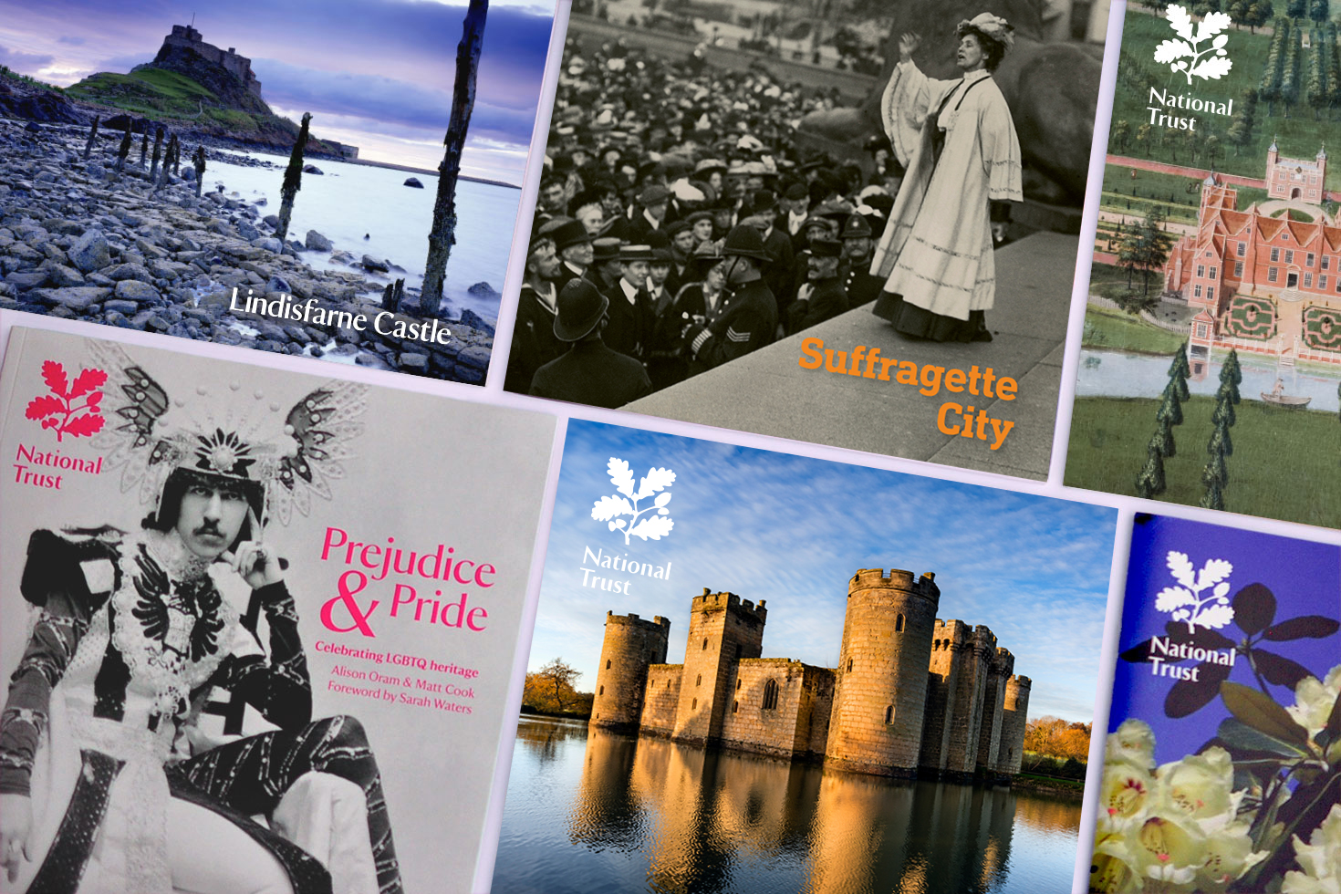 National Trust covers