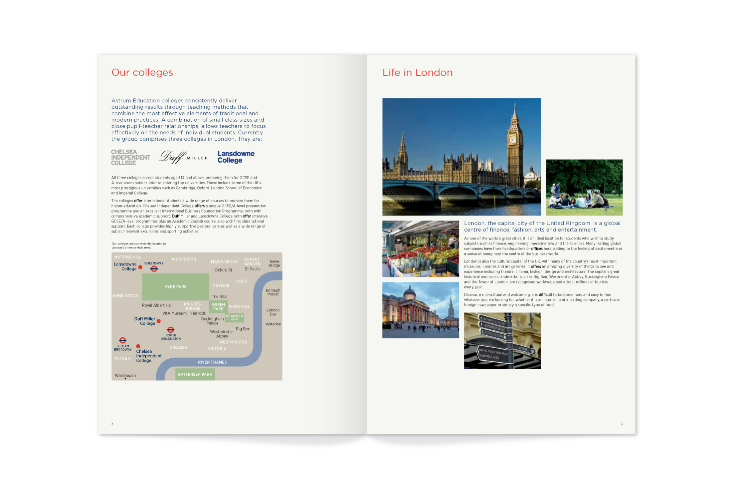 Astrum Education brochure
