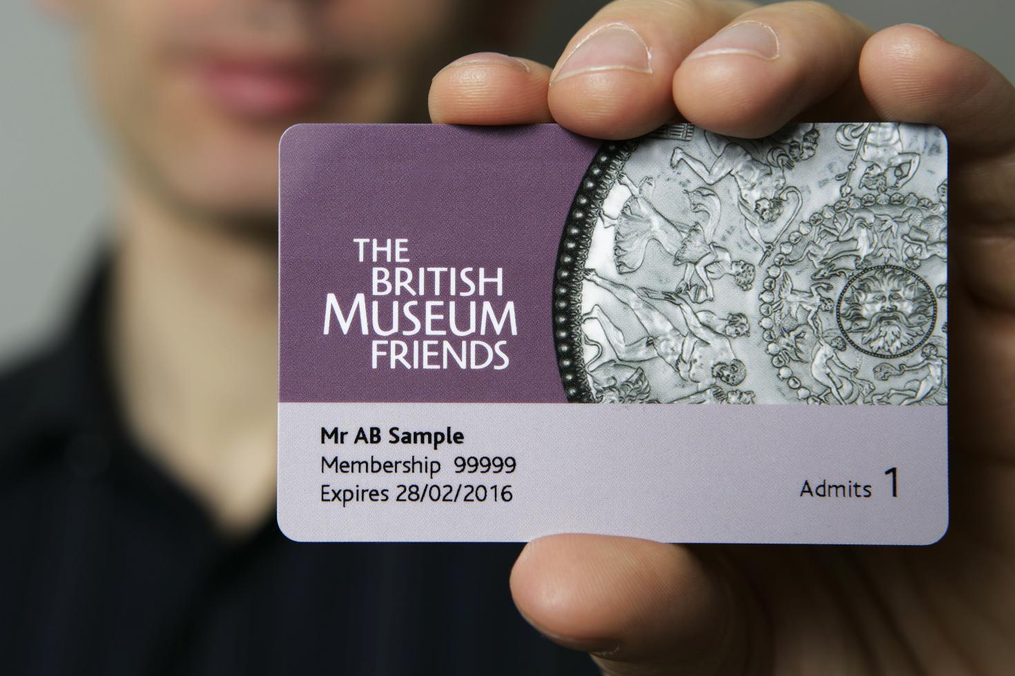 British Museum Members card