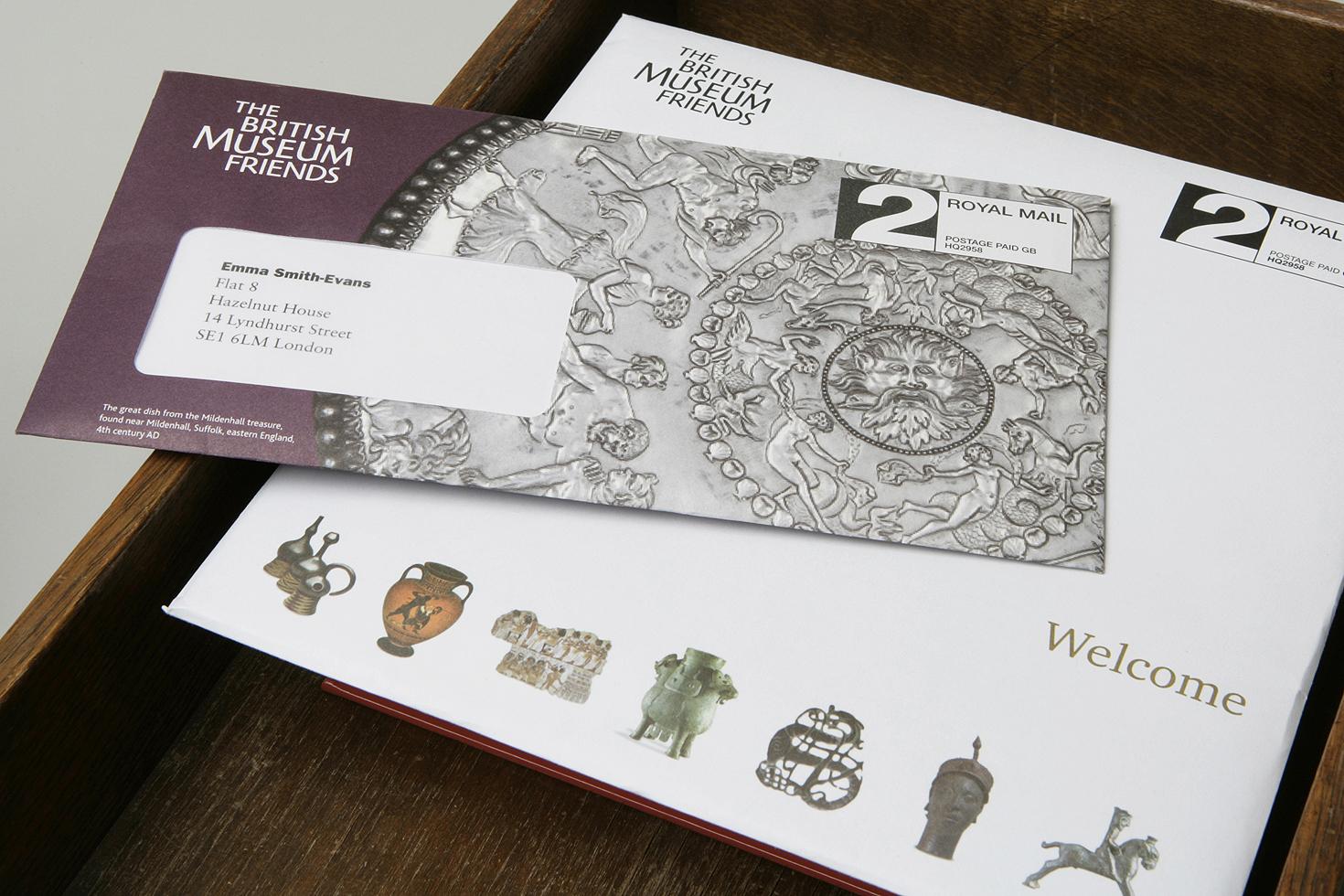 British Museum membership material