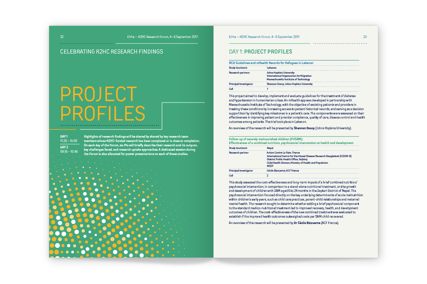 R2HC report spread