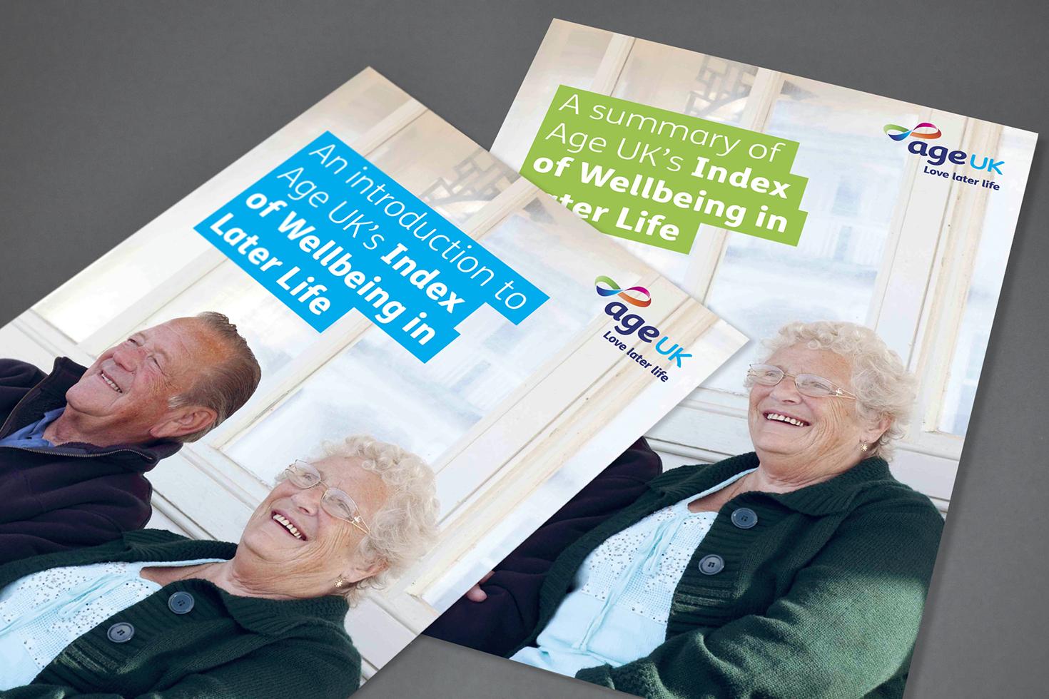 Age UK brochures
