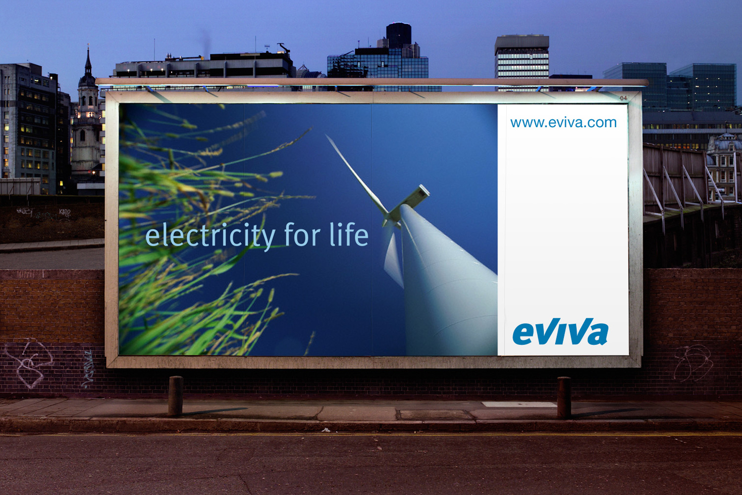 Eviva billboard poster