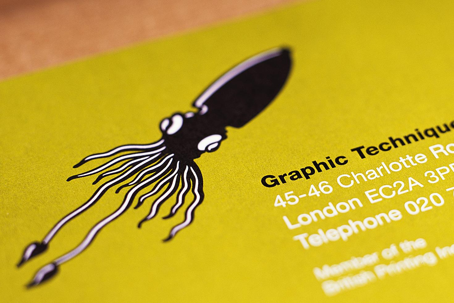 Graphic Techniques business card