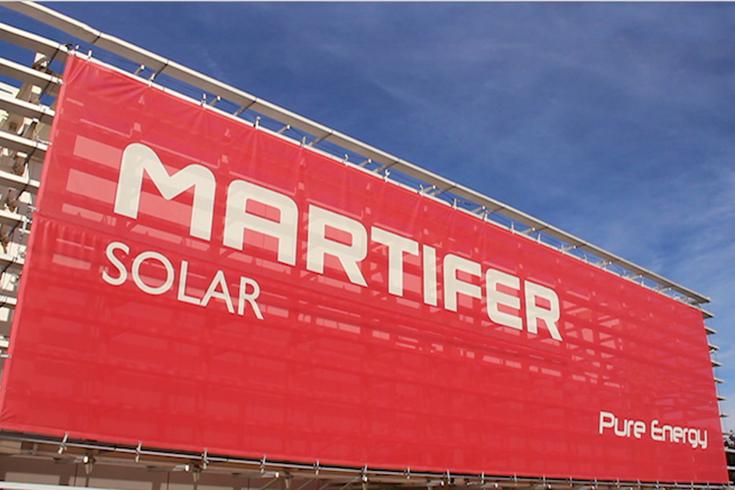 Martifer solar sign