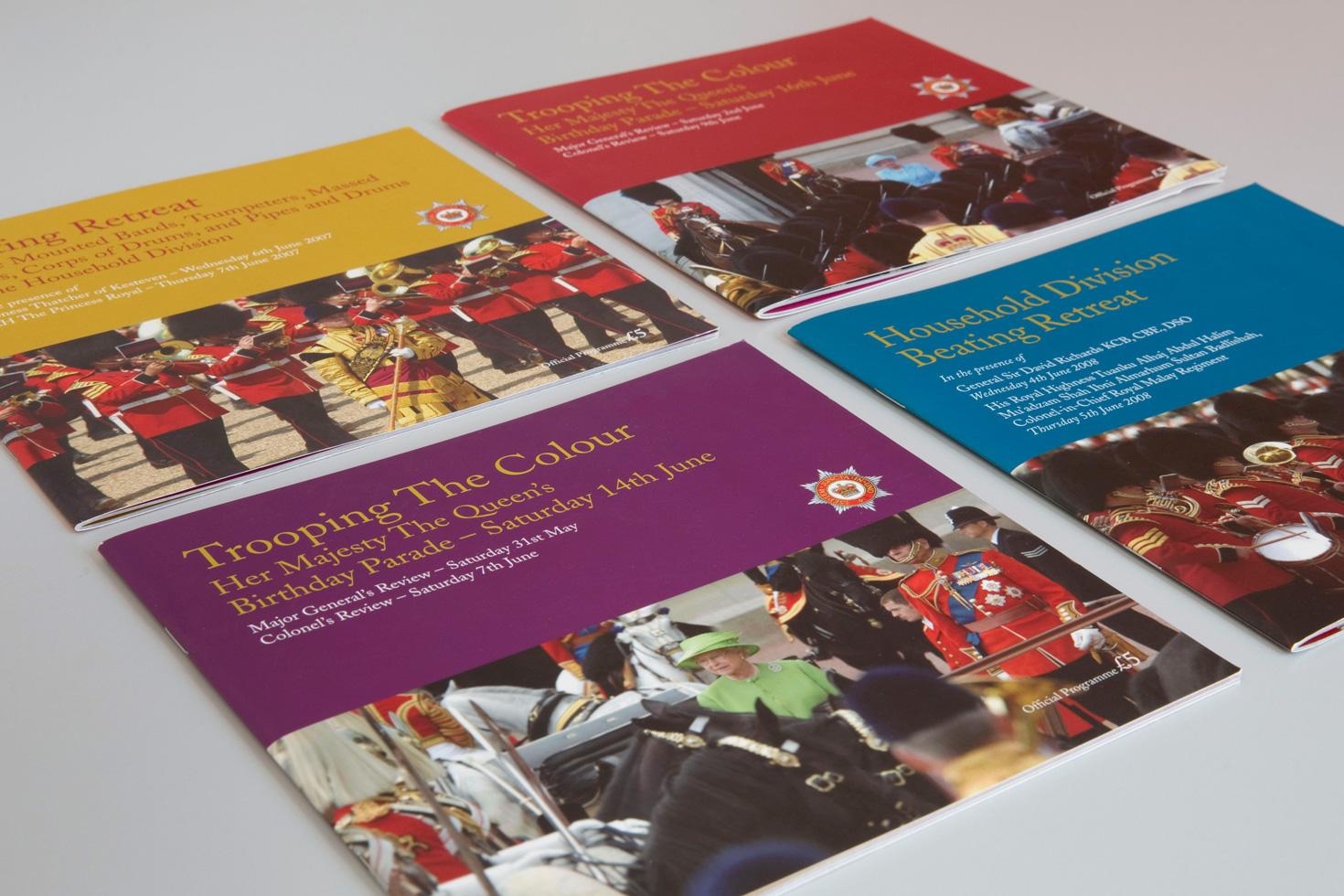 Range of booklets
