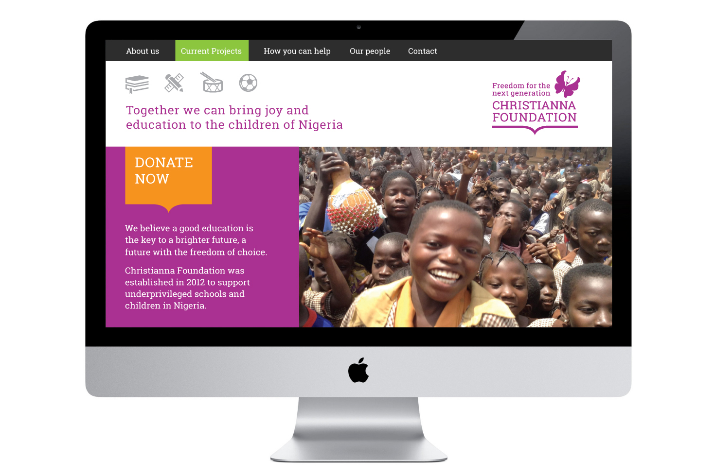 Christianna Foundation website