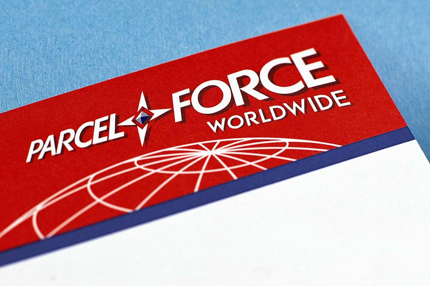 Parcelforce letterhead