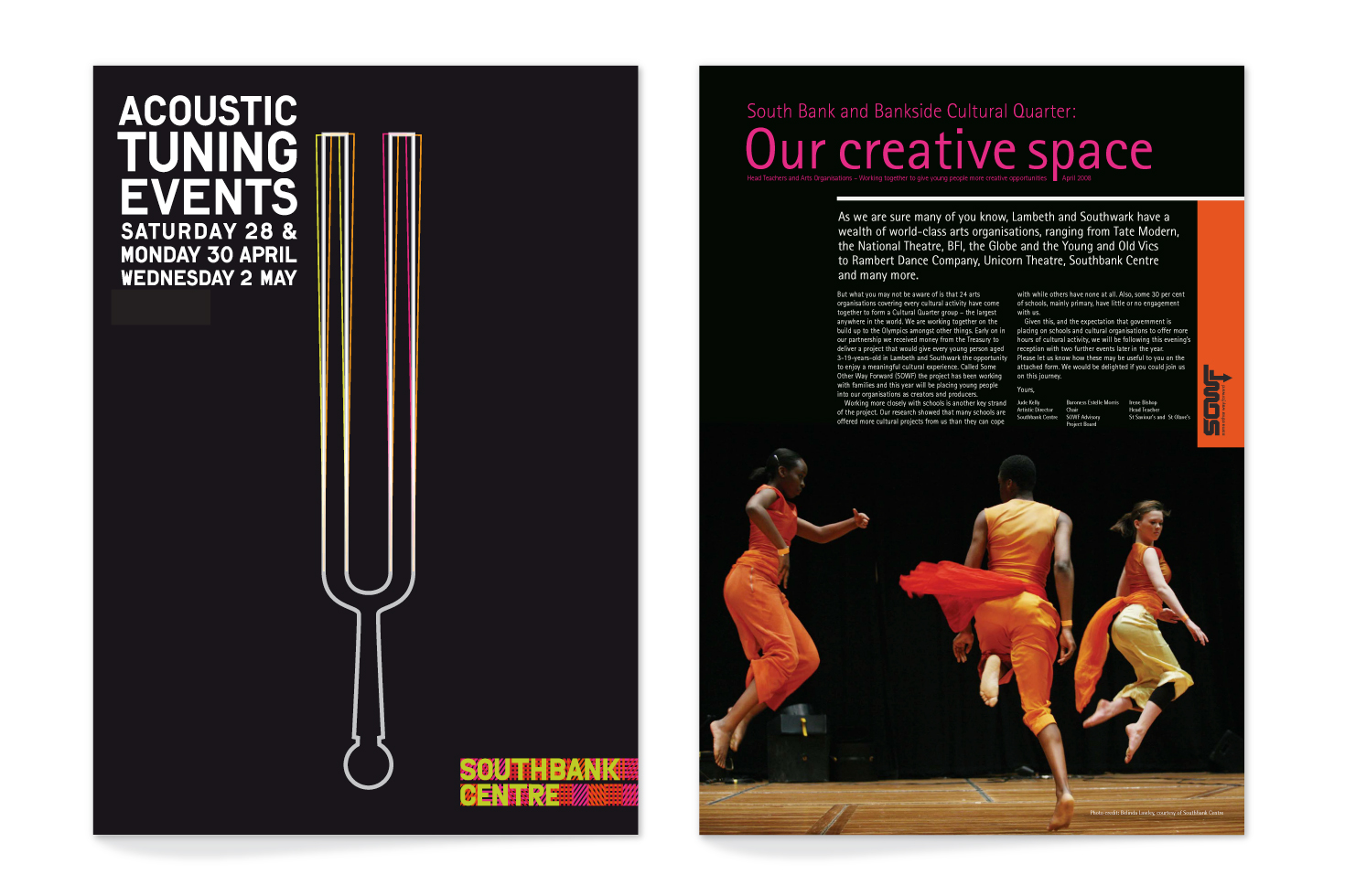 Southbank Centre covers