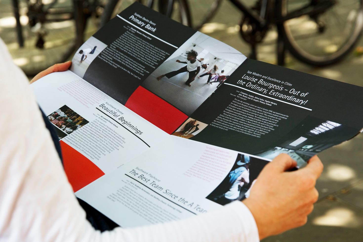 Southbank Centre leaflet