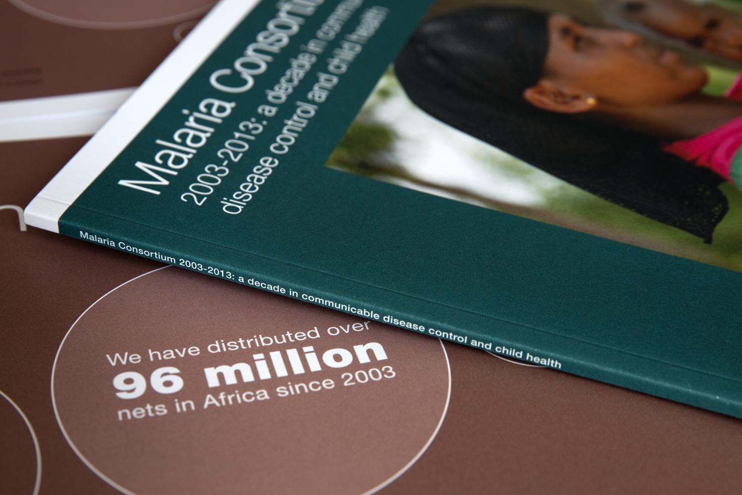 Malaria Consortium report cover
