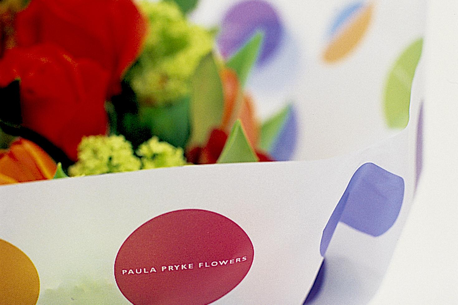 Paula Pryke Flowers wrapping