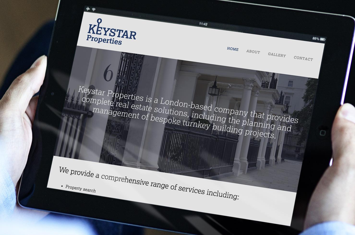 Keystar Properties website
