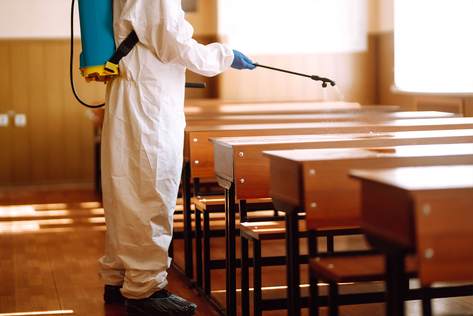 Cleaning vs Disinfecting: What is the Difference?