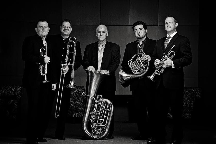 Boston Brass with Sam Pilafian on Tuba