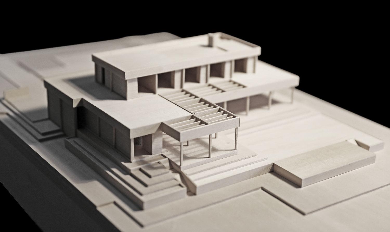 Model of modern house
