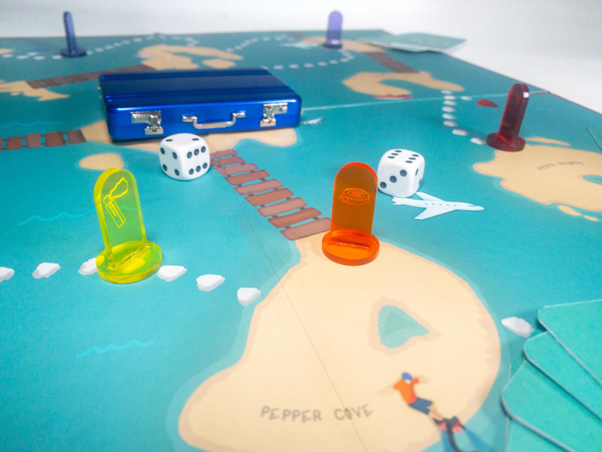 Beauty shot of board game