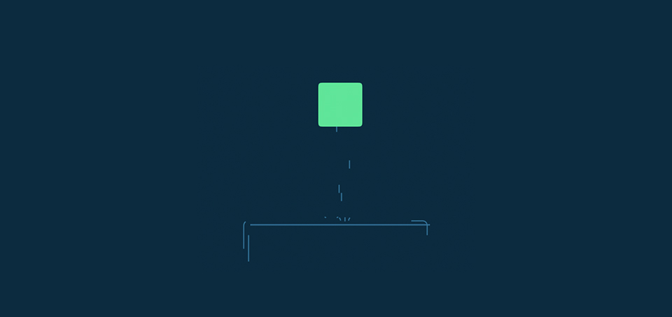 Square cube Crying