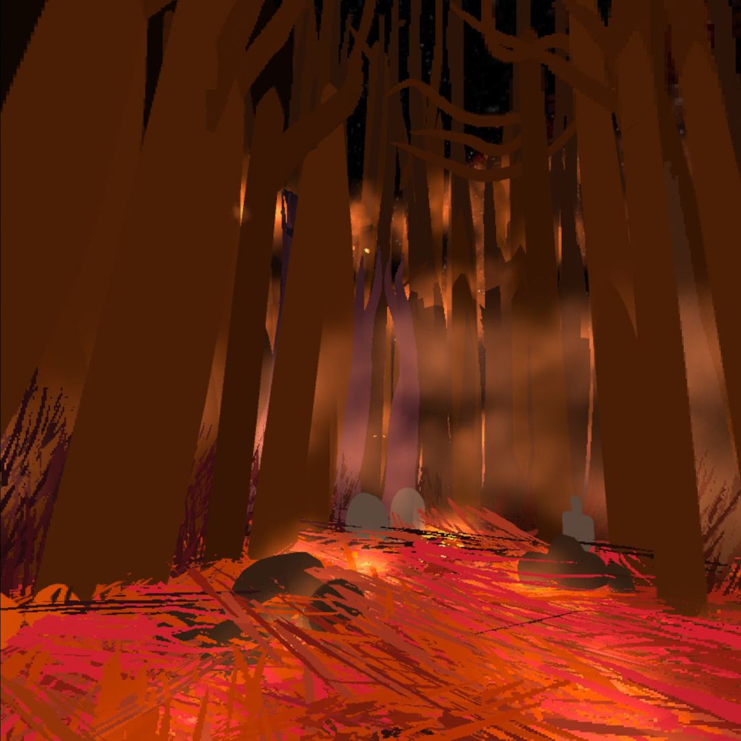 Spooky Forest made in VR