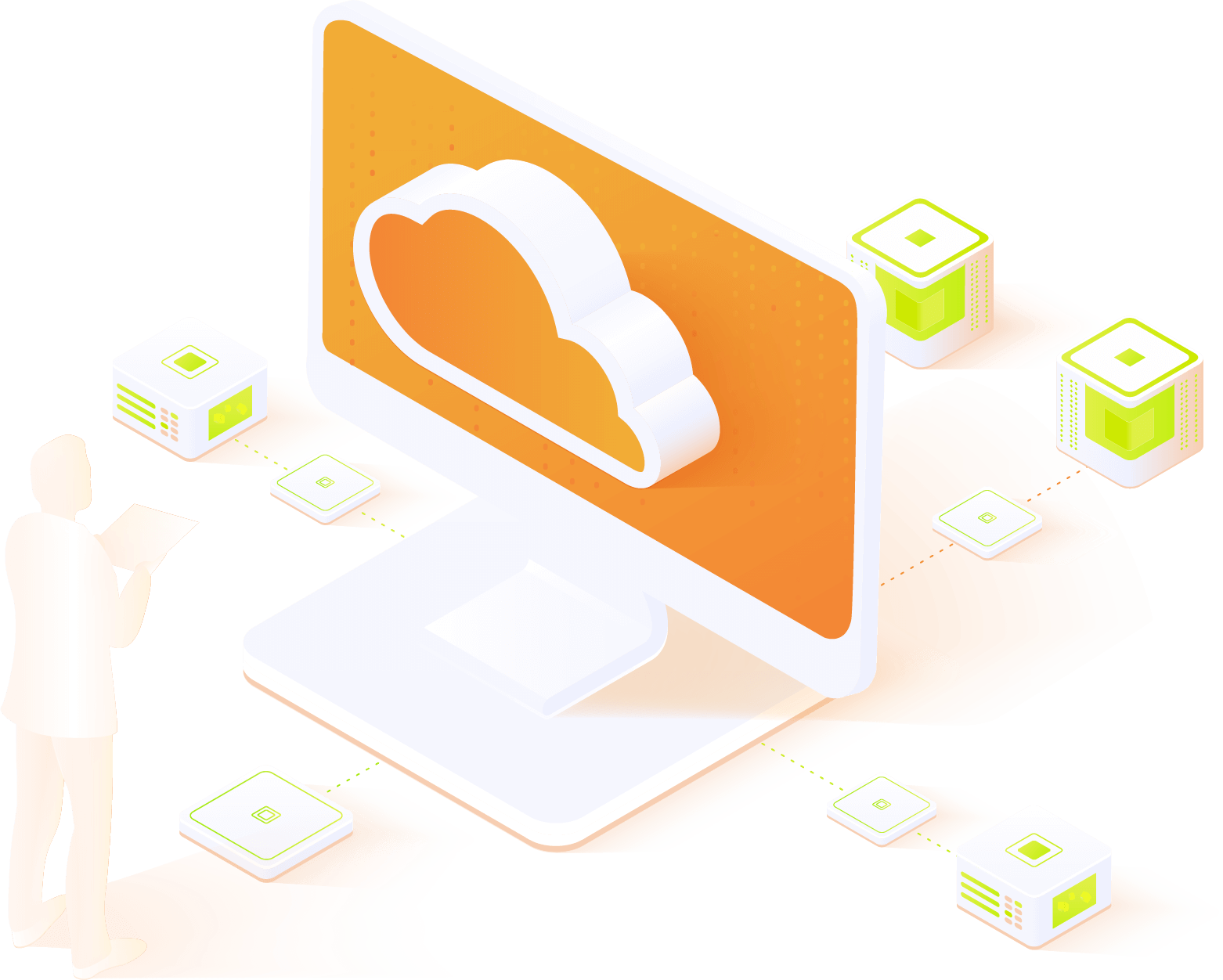Image of cloud computing