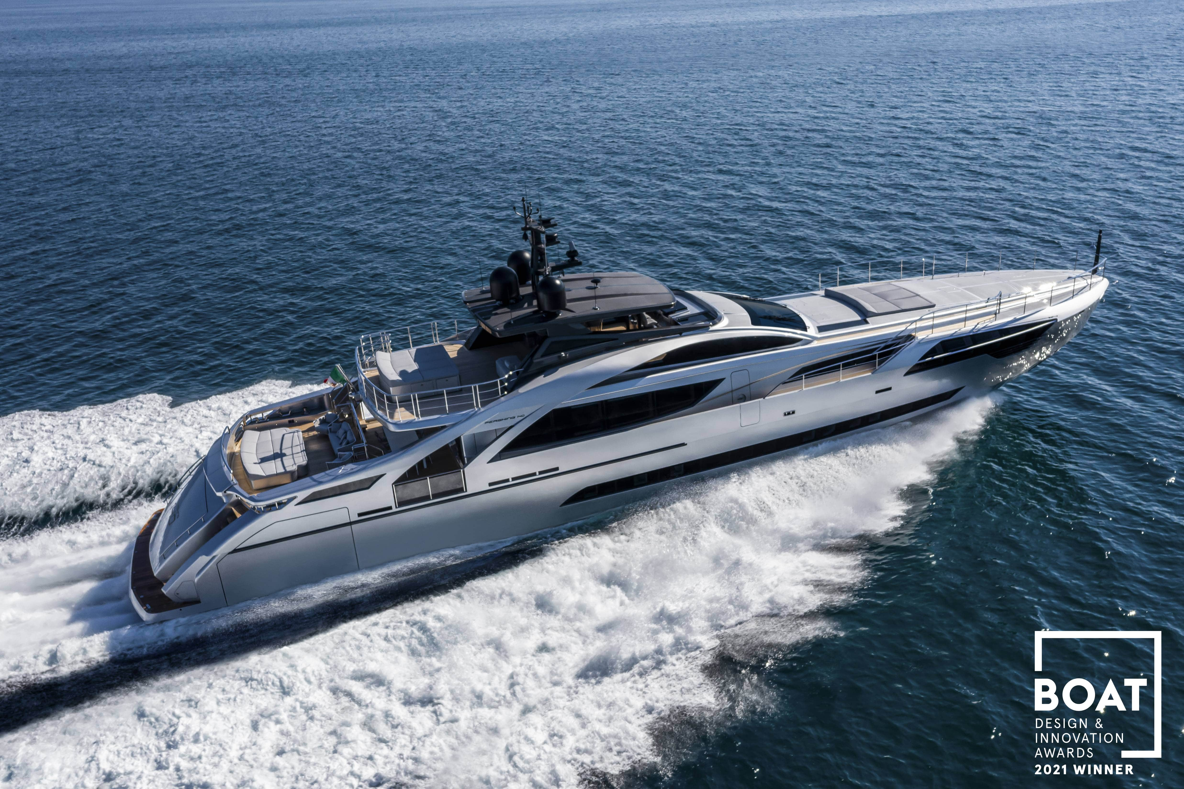 Chiến thắng đúp dành cho Tập đoàn Ferretti tại Boat International Design & Innovation Awards 2021