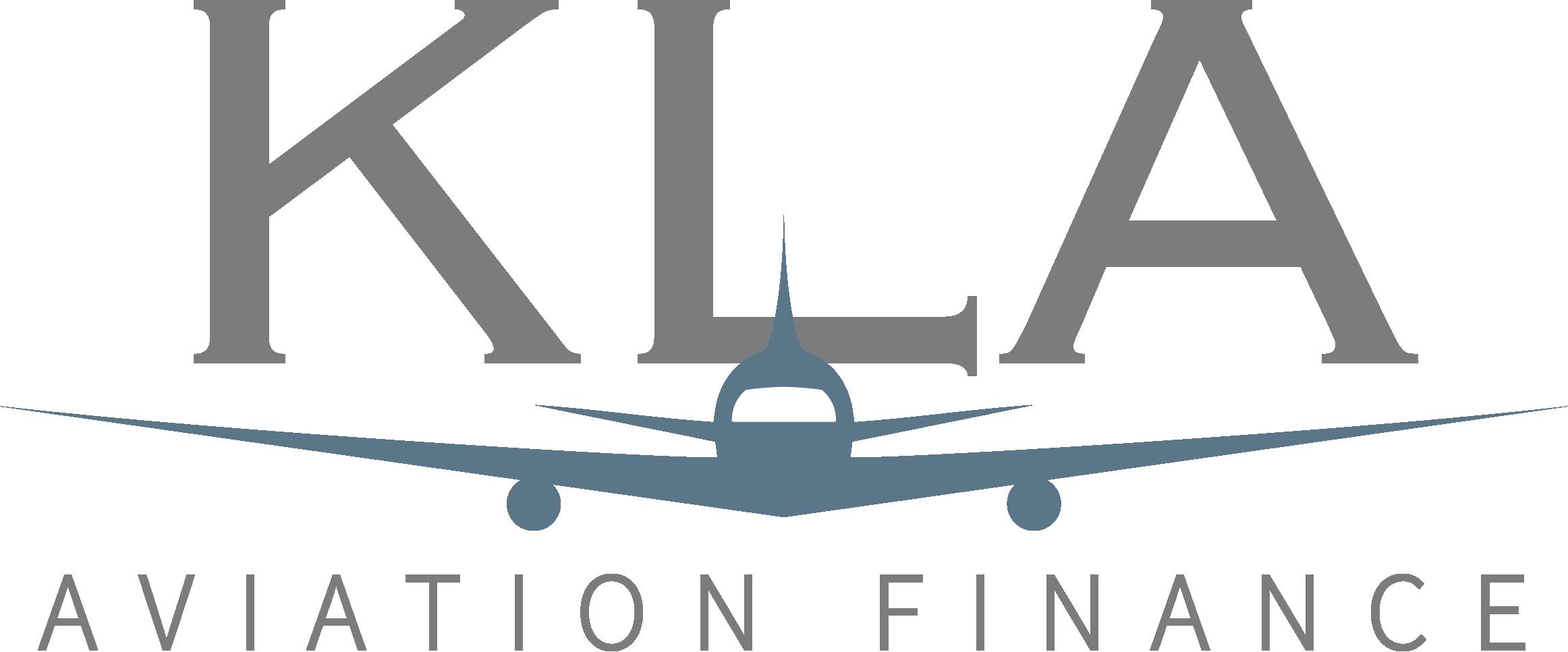 KLA Aviation Finance Logo Coloured (Grey)