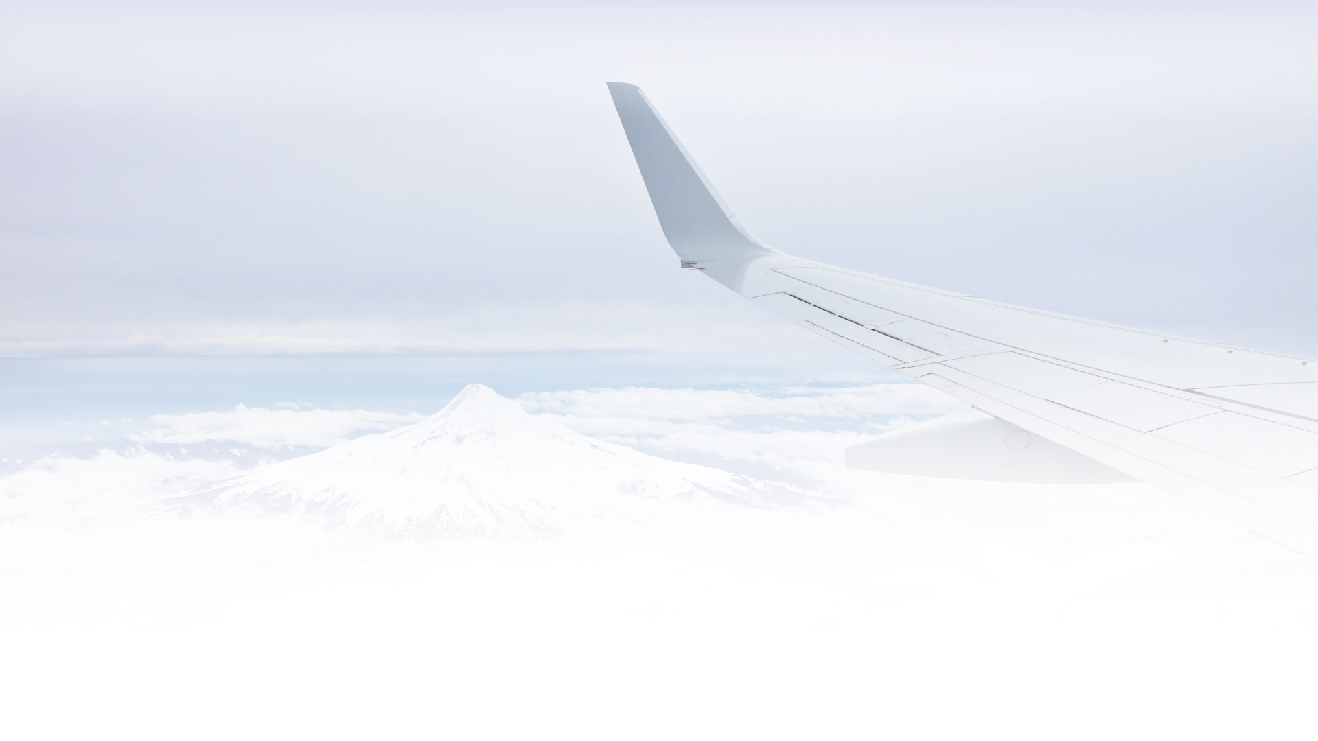 KLA Aviation Finance Main Banner Image with white airplane wing