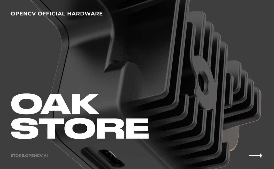 OpenCV Official Hardware Store