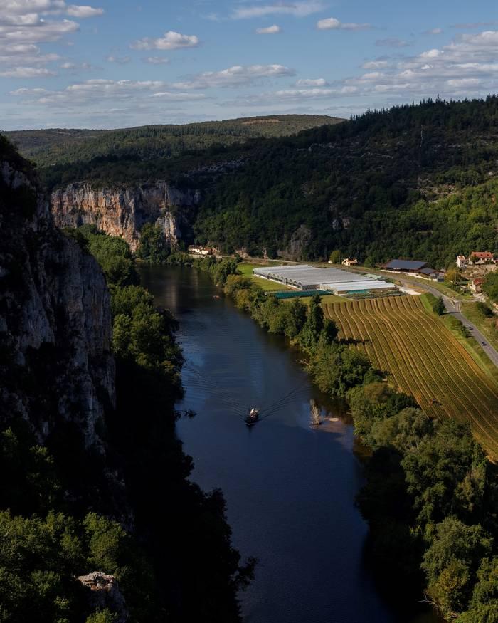 Activités de loisir près du village de Saint Cirq Lapopie