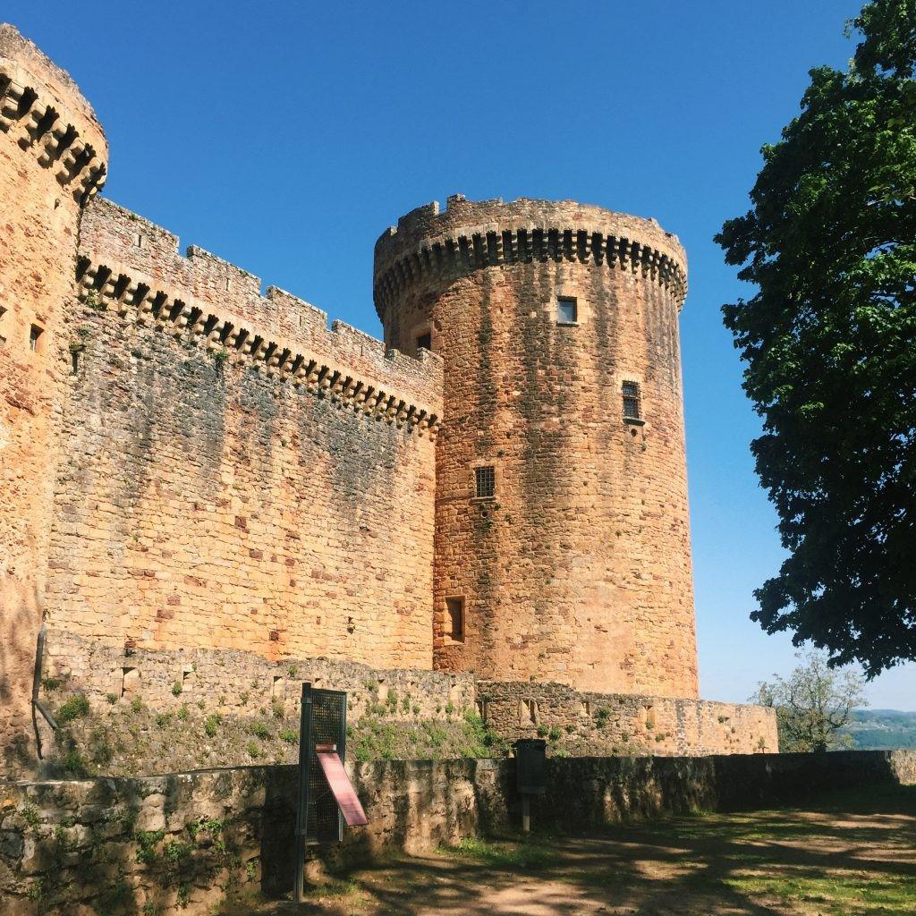 Tour d'artillerie du Château de Castelnau