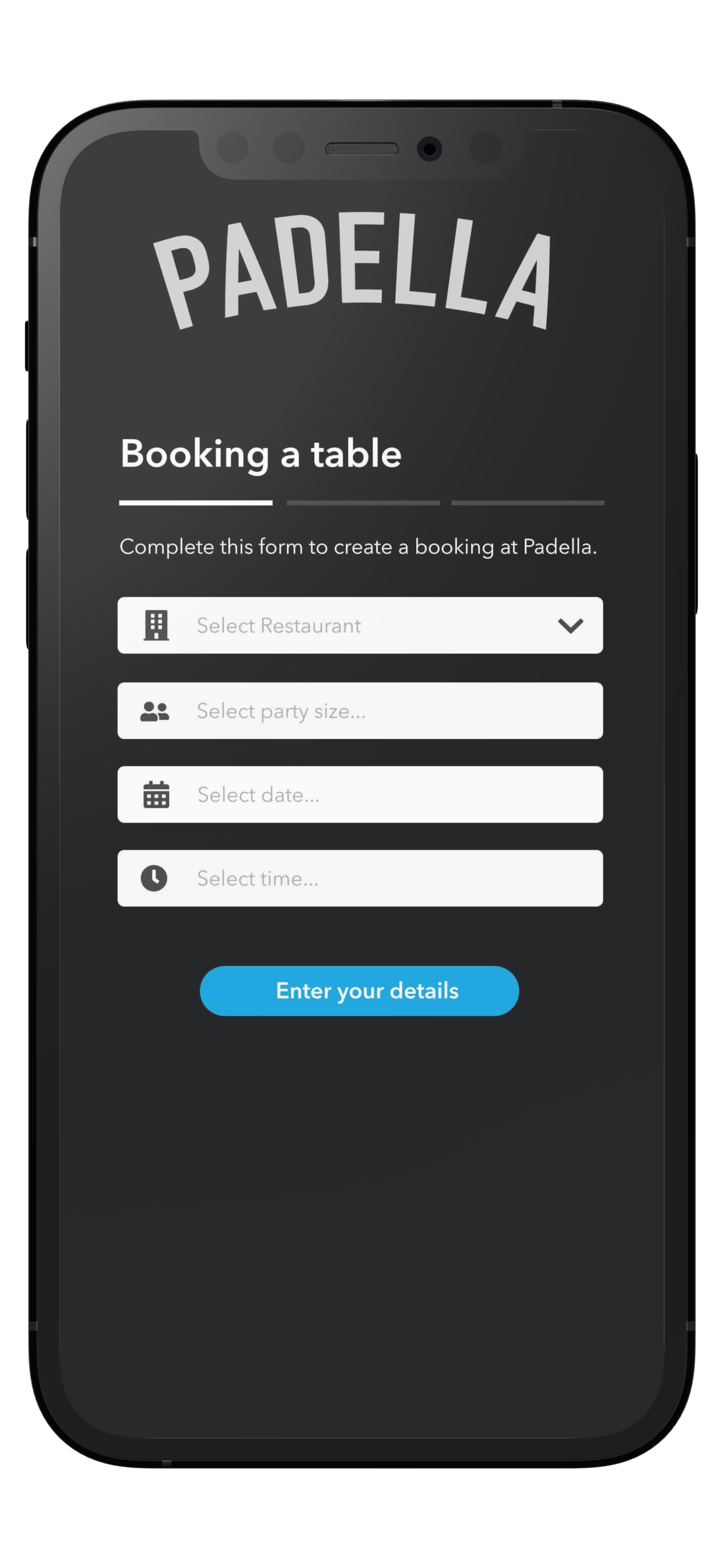 Padella Booking